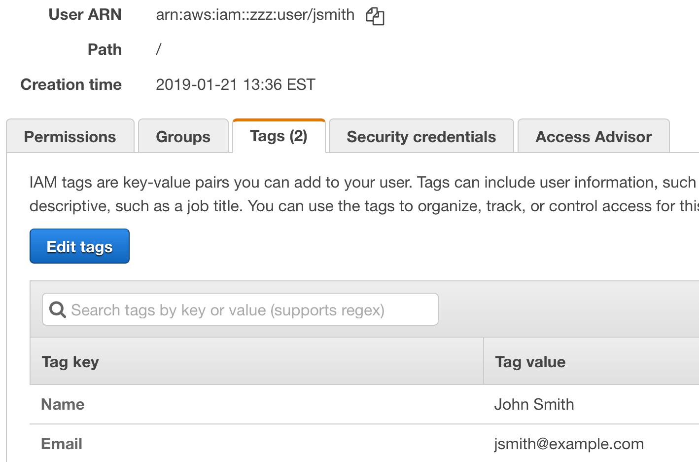 AWS Lambda boto3 Version - User Tags missing · Padraic Renaghan
